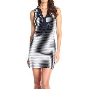 Lily Pulitzer navy striped dress